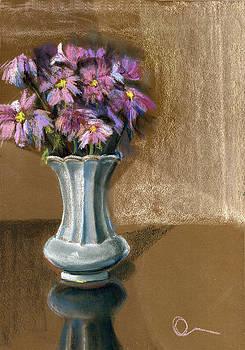 October Flowers by Lelia Sorokina