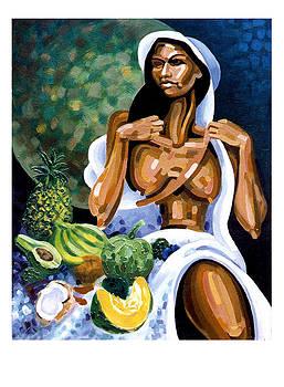 Ofrenda de frutas II by Samuel Lind