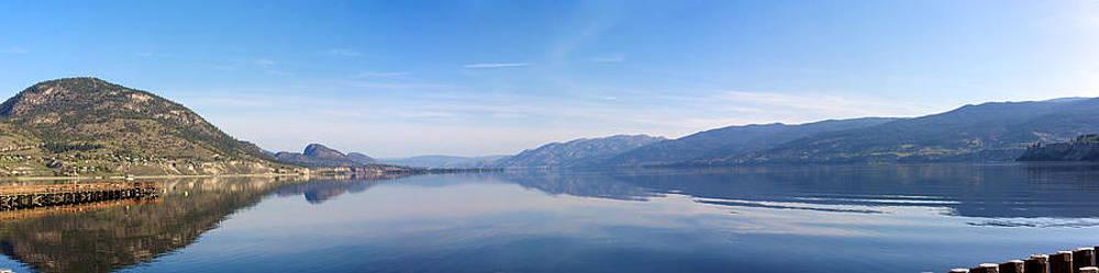 Okanagan Lake by Ivan SABO