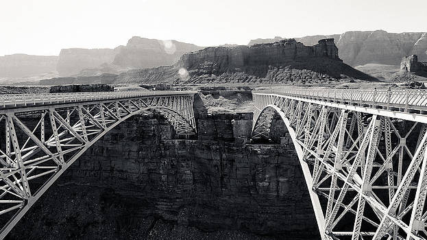 Julie Niemela - Old and New Navajo Bridge
