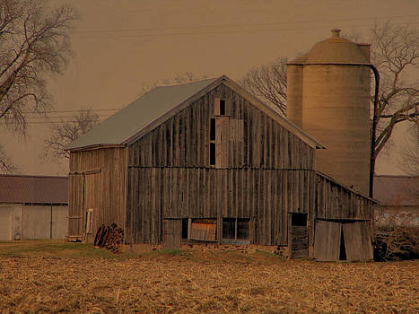 Old Barn on Country Road by Victoria Sheldon