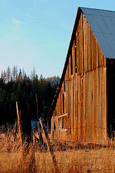Old Barn Photograph - Sun Worn by Light Shaft Images