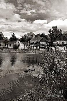 Kathleen K Parker - Old Bedford Village Pennsylvania_monochrome