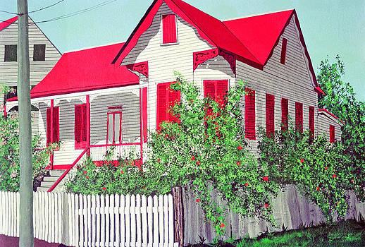 Old Belizean Home by John Westerhold