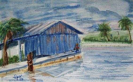 Old Boat House by Spencer  Joyner