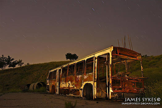 Old Bus by James Sykes