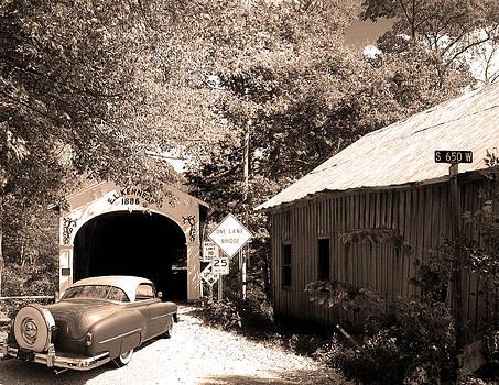 Randall Branham - Old Car Older Barn Oldest Bridge