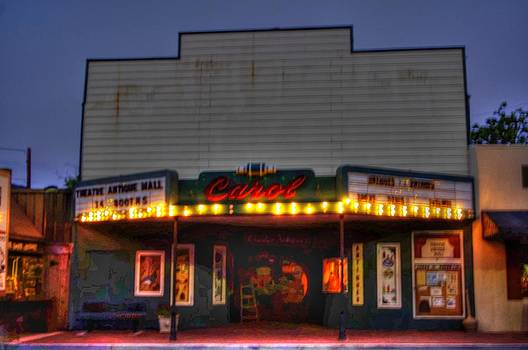 Old Carol Theater Antiques by Jenny Bauer