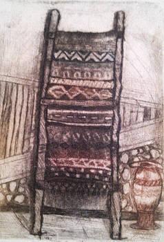 Old Carpet by Branko Jovanovic