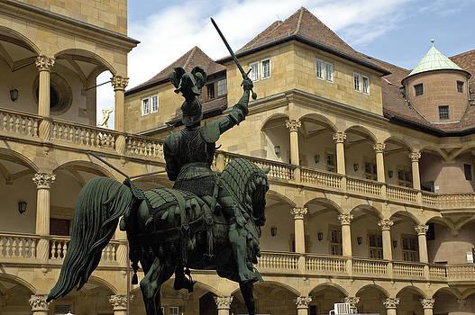 Old Castle Altes Schloss Stuttgart by Matthias Hauser