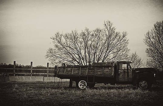 Old Chevy Sepia by Off The Beaten Path Photography - Andrew Alexander