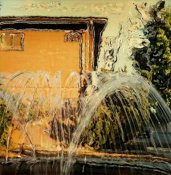Old City Hall Fountain by Gwen Strahan