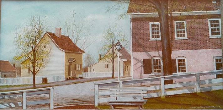 Old Colonial Home by Charles Roy Smith