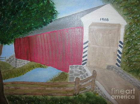 Old Covered Bridge by Dawn Harrold