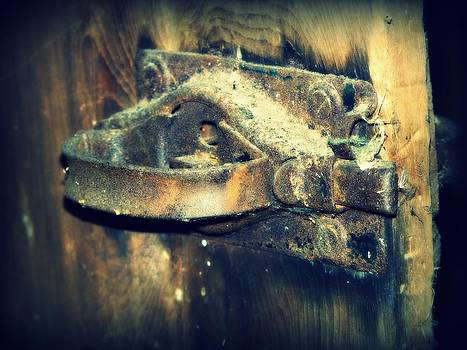 Old Door Latch by Jennifer  King