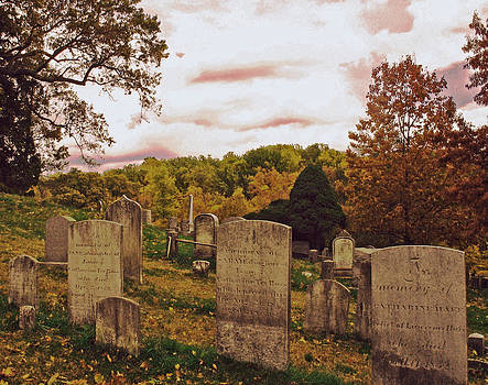 Old Dutch hurch Graveyard by Mark K