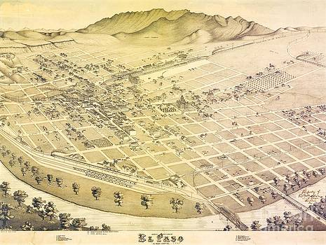 Roberto Prusso - Old El Paso Map