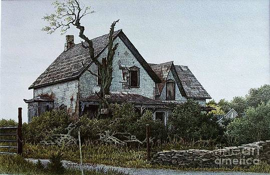 Old Farmhouse Picton by Robert Hinves