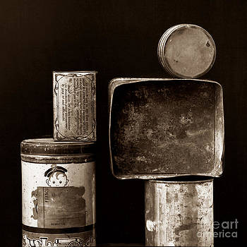 BERNARD JAUBERT - Old fashioned iron boxes.