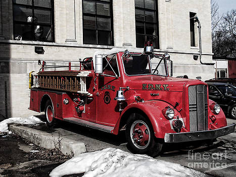 Anne Ferguson - Old Fire Engine