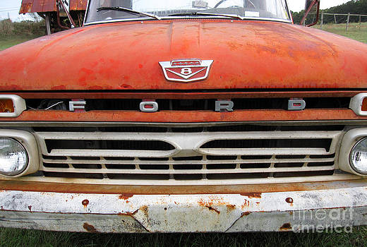Old Ford Truck by Julie Bostian