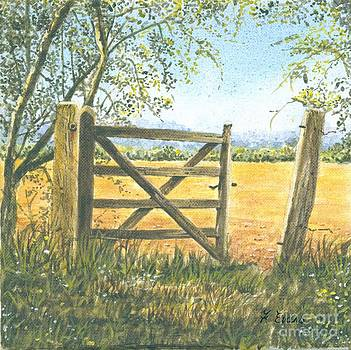 Old Gate by Frances Evans