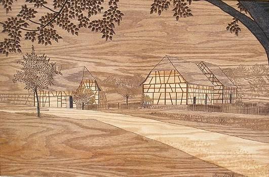 Old German Farm by Stan Shirk