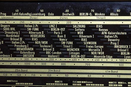 Old german radio by Matthias Hauser
