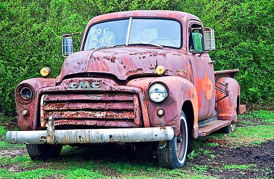 Old GMC For Sale by Susan Leggett
