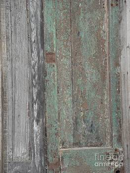 Old Green Door by Janet Herbert