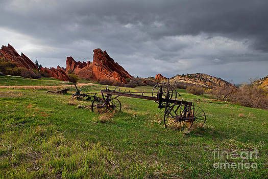Old Homestead at Dusk by Barbara Schultheis