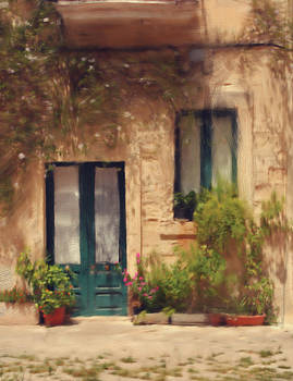 Old house exterior by Pavlos Vlachos