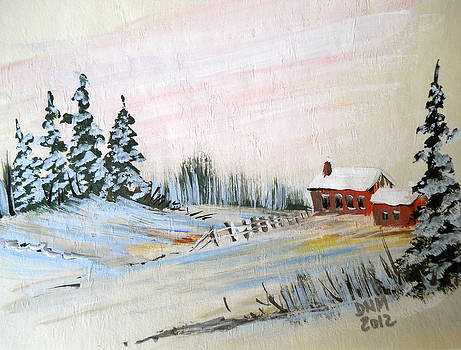 Old House on the Hill by Dorothy Maier