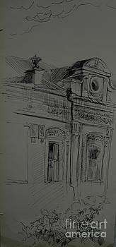 Old House by Victoria  Tekhtilova