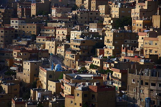 Old houses by Adeeb Atwan