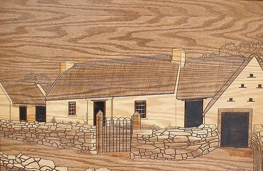 Old Irish Cottage by Stan Shirk