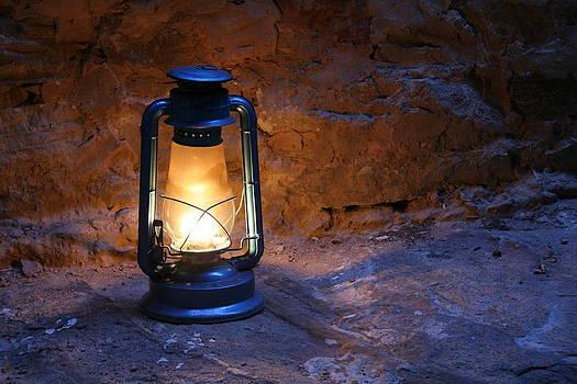Old Lamp by Adeeb Atwan