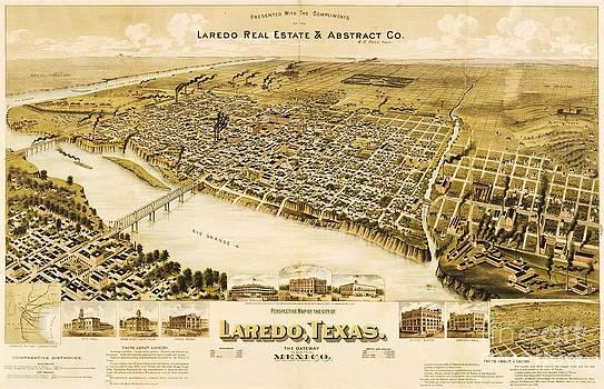 Roberto Prusso - Old Laredo Map