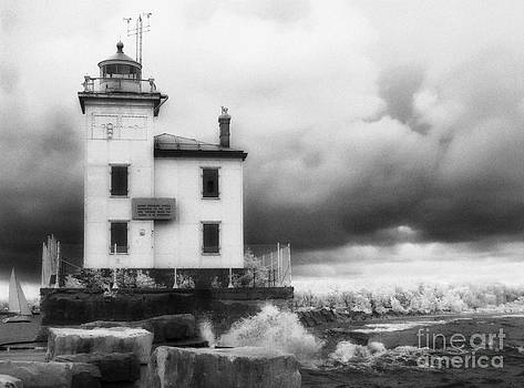 Jeff Holbrook - Old Lighthouse in a Storm
