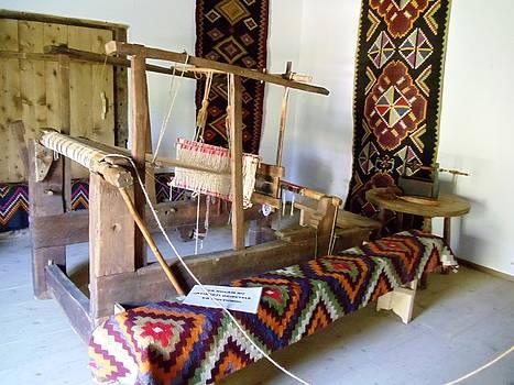 Old loom by Kovats Daniela