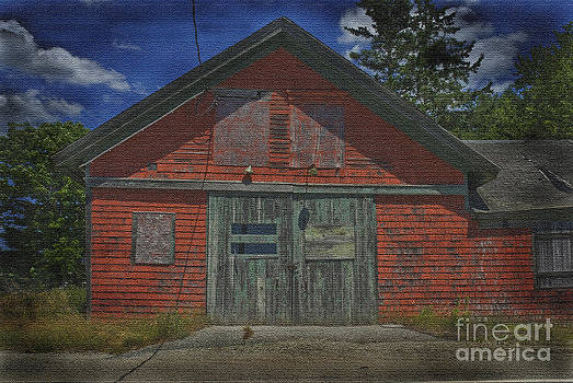 Old Maine barn by Jim Wright
