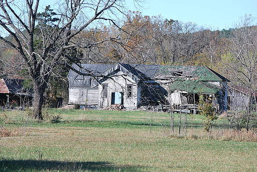 Old Mill House off of Flint Creek by Michele Carter