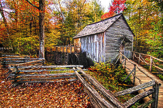Randall Branham - old mill Smoky Mountains