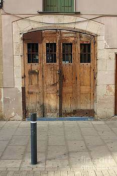 Old Old Door by Dennis Curry