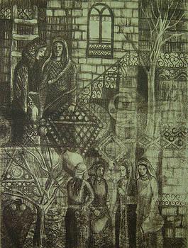 Old Oriental story by Ousama Lazkani