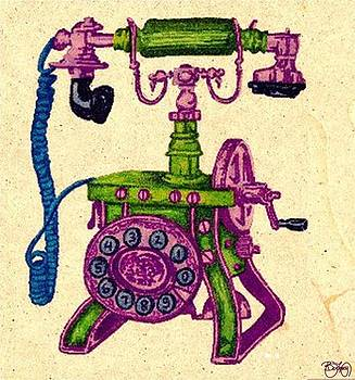 Old Phone by Ben Leary