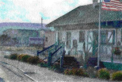 Old Railroad Station by Mark Stidham