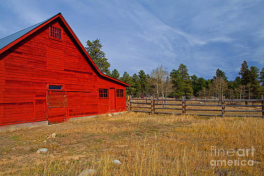 Old Red Barn by Barbara Schultheis
