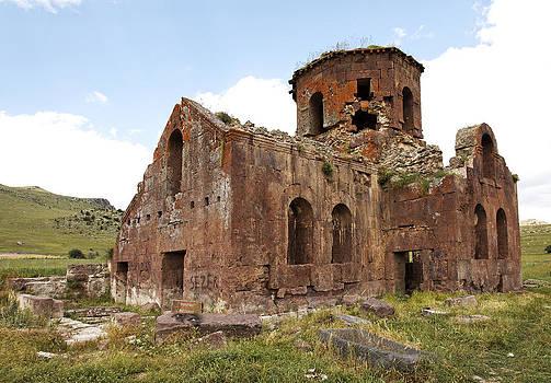 Kantilal Patel - Old Red Church Kizil Kilsie Turkey