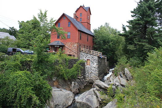 Donna Walsh - Old Red Mill in Jerico Vermont
